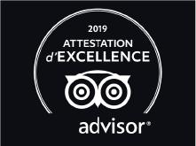 Avis d'excellence trip Advisor